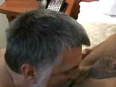 two gay dudes suck dick and get pounded.
