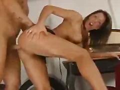 Ознаке: analni sex, brineta, hardkor, riba.