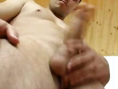 Kinky homo boy in nylon tights rubs to cum .
