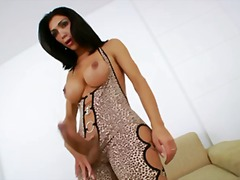 Ultra yummy and hot tranny doll solo.
