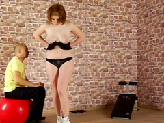 Submissive training for youg lady.