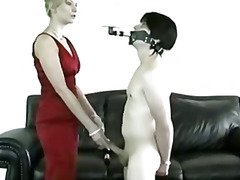 Challenge for this slave bdsm bondage slave femdom domination .