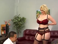 Elegant blonde slut siri gets eric jover's dick in the sweet holes.