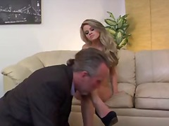 Fascinating tall blonde jessa rhodes in.