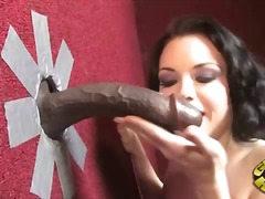 Tatianna kush at a gloryhole.