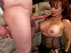 Sexy redhead hooter prostitute pildriver fuck.