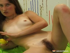 Tags: solosex, brunetter, bryster, tynde.