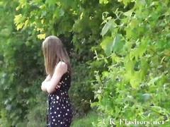 Teen public nudity and lauras amateur flashing.
