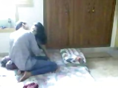 hawt desi woman making love with her boyfriend on hidden web camera.