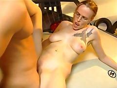 Fucking hot tatoo bitch.