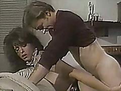 vintage tranny maid fucks lucky stud.