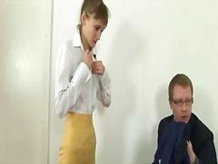 Tag: magrinha, dominação, meia fina, secretária.