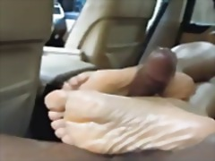 Oznake: fetiš na stopala, črnka, izliv, žena.
