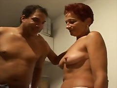 Young man tasty pussy of a mature german lady.