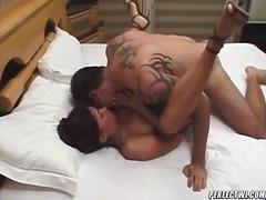hot femdom scene.
