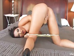 Asa akira wants to be constantly satisfied, so thats why is masturbating hard right now and playing with her favorite sex toy. just take a look how she enjoys the whol....