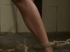 hardcore bdsm scene with horny lesbian bitches named katy parker and salome.