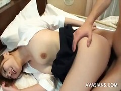 cum in asian asshole anal creampie.