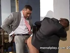 Hot office gay guys sucking & fucking.