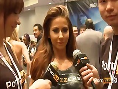 Pornhubtv madison ivy interview at 2014 avn awards.