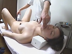 big booty nude japanese girl gets her twat fingered.