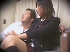 Leggy jap teen nailed viciously in spy cam sex movie.