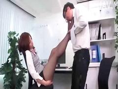 Ознаке: kancelarija, fetiš, fetiš na stopala, pičić.
