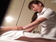 Massage master getting naughty.