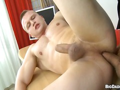 Sensual and salacious gay sex.