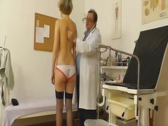 Aged gyno medic with a hidden cam.