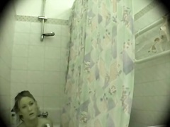 Real spy cam in the bathroom.