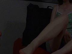 Žymės: kojinės, kojinės, pėdų fetišas, fetišas.