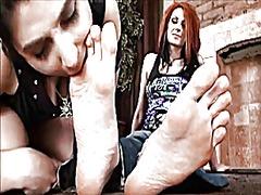 Tags: ոտքերի ֆետիշ, ֆետիշ, լեսբիներ, մեղմ.