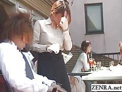 Oznake: zunaj, japonka, v javnosti, fetiš.
