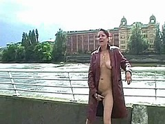 Public maturbation this video is presented by uk flashers.