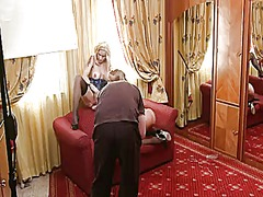 Silvia saint opens her legs to be tongue fucked by lesbian stacy e.
