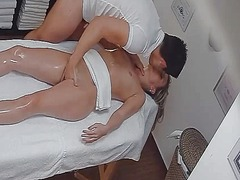 Czech hot babe spreads wet pussy in sensual encoun.